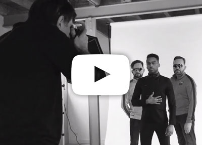 KYZR behind the scenes - the photoshoot